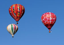 Colorful hot air balloons Royalty Free Stock Photo