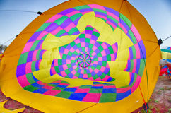 Colorful hot air balloons at  festival Stock Photos