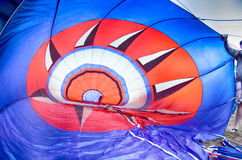Colorful hot air balloons at  festival Royalty Free Stock Images