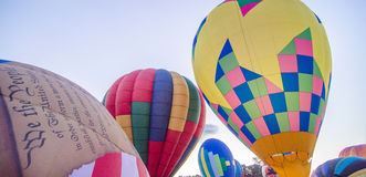 Colorful hot air balloons Royalty Free Stock Image