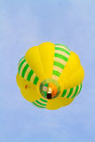 Colorful hot-air balloons flying over the mountain Royalty Free Stock Photo