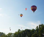 Colorful Hot Air Balloons Royalty Free Stock Photography