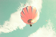 Colorful hot air balloons Stock Photo