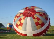 Colorful Hot Air Balloons in West Virginia Royalty Free Stock Photography