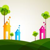Colorful House Royalty Free Stock Photography