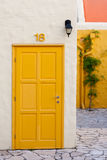 Colorful house in Balatonfured Royalty Free Stock Photos