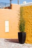Colorful house in Balatonfured Stock Photos