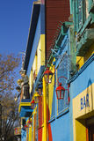 Colorful House in Buenos Aires. Stock Image
