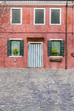 Colorful house from Burano island Stock Photography