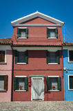 Colorful house, Burano, Italy Royalty Free Stock Photo