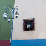 Colorful house in Caminito Royalty Free Stock Photography