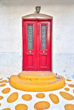 Colorful house entrance Stock Photo