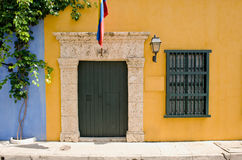 Colorful house exterior Royalty Free Stock Photography