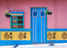 Colorful House - Guatape, Colombia Royalty Free Stock Photo