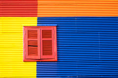 Colorful house in La Boca, Buenos Aires Stock Photos