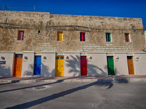 Colorful house in marsaxlokk Royalty Free Stock Photography