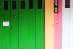 Colorful house Royalty Free Stock Image