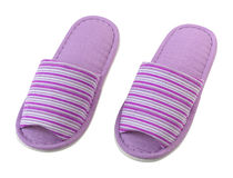 Colorful house slippers Stock Photography