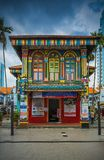 The colorful house of Tan Teng Niah royalty free stock photography