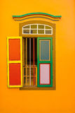 Colorful House of Tan Teng Niah in Little India, Singapore Royalty Free Stock Photo