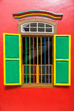Colorful House of Tan Teng Niah in Little India, Singapore Stock Image