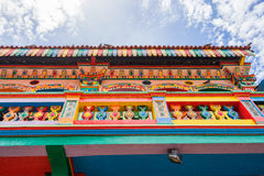 Colorful House of Tan Teng Niah in Little India, Singapore Royalty Free Stock Photos