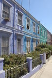 Colorful house in Valparaiso Royalty Free Stock Photo