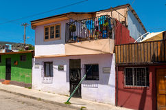 Colorful house in Valparaiso Royalty Free Stock Photography