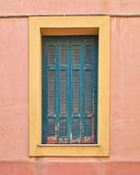 Colorful house window Stock Photos
