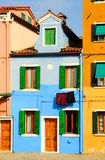 Colorful houses Stock Image