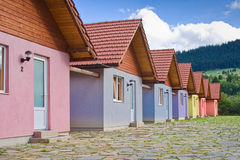 Colorful houses Stock Images