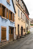 Colorful houses in Alsace Royalty Free Stock Photo