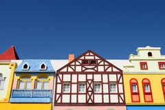Colorful houses architecture Stock Image