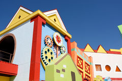 Colorful houses architecture Royalty Free Stock Image
