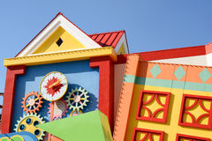 Colorful houses architecture Royalty Free Stock Images