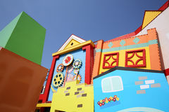 Colorful houses architecture Stock Photography