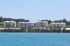 Colorful Houses in Bermuda Stock Image
