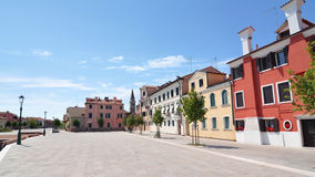 Colorful houses and buildings in Venice, Italy Royalty Free Stock Image