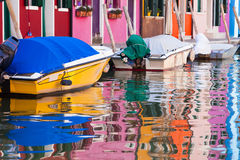 Colorful houses Royalty Free Stock Image