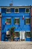 Colorful houses, Burano, Italy Stock Photo