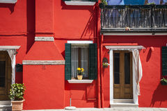 Colorful houses, Burano, Italy Royalty Free Stock Image