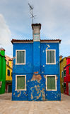 Colorful houses of Burano, Venice, Italy Stock Image