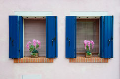 Colorful houses of Burano, Venice, Italy Royalty Free Stock Image