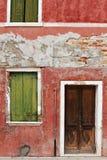 Colorful houses of Burano Stock Image