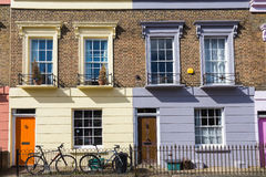 Colorful houses of Camden Town - London, United Kingdom Stock Image