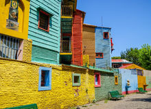 Colorful houses in Caminito, Buenos Aires Royalty Free Stock Image