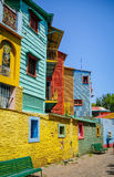 Colorful houses in Caminito, Buenos Aires Royalty Free Stock Images