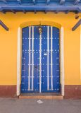 Colorful houses of Trinidad Cuba. Royalty Free Stock Photography
