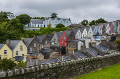 Colorful Houses in Cobh Royalty Free Stock Photography