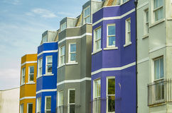 Colorful houses Stock Photos